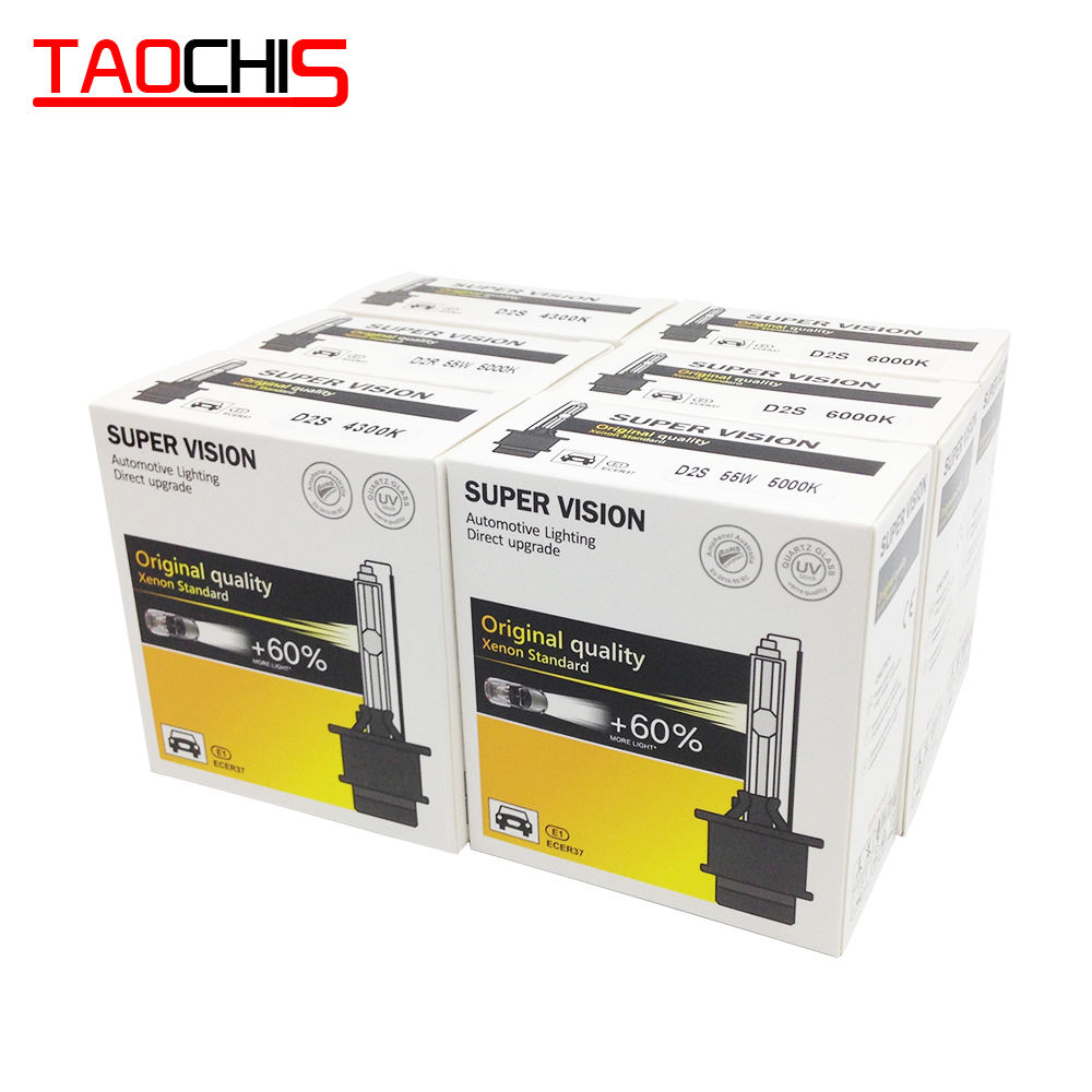 TAOCHIS AC 12V 35W Auto Car HID Xenon Light D1S D1R Head light D2S D2R 4300k 6000k 8000k D4S D4R Replacement Bulbs D3S D3R