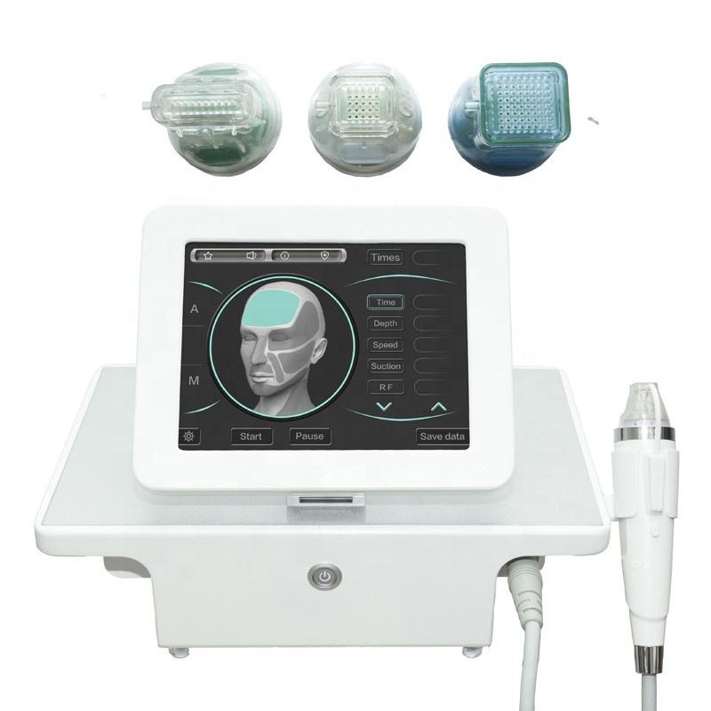 Face lift wrinkle removal fractional radiofrequency machine rf micro needle