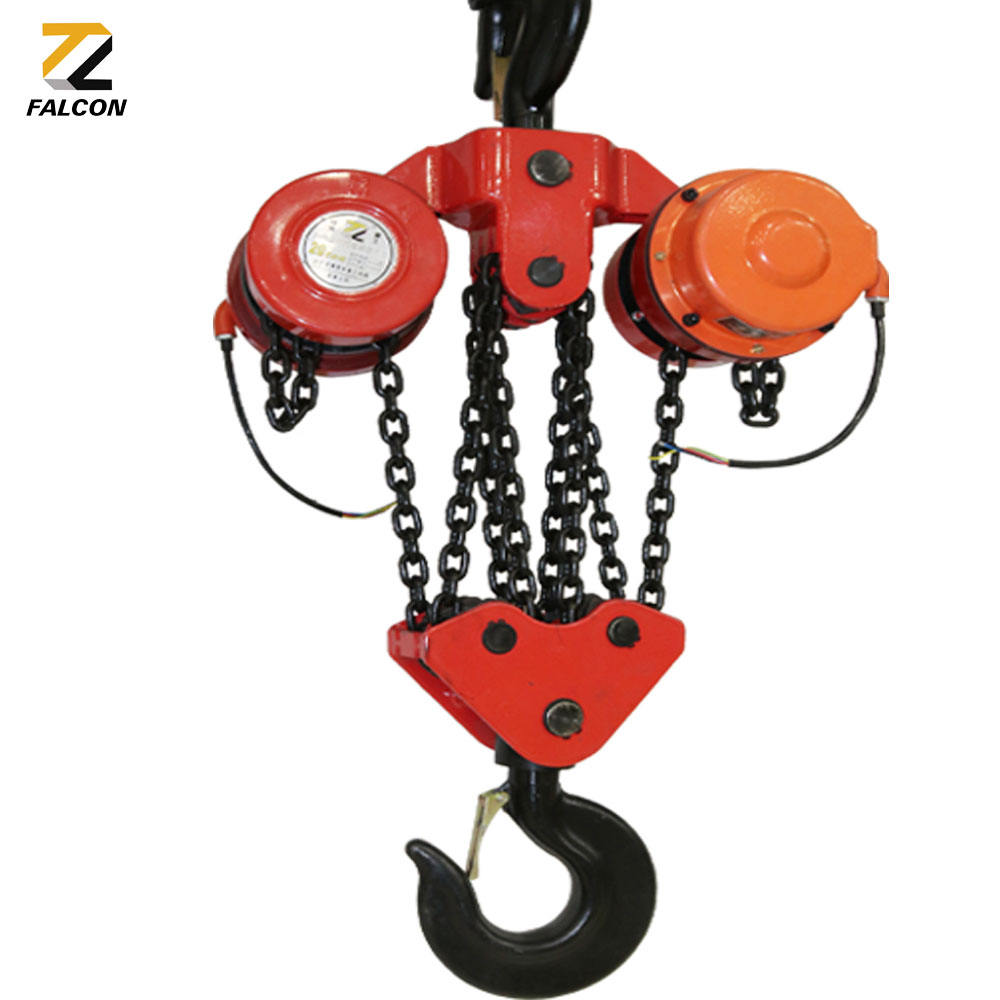 Hot Sale DHP chain overload limiter crane 5ton 6m for wholesales hoist electric chains
