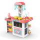 Kids kitchen sets pretend play cooking mini gas stove toys with sound