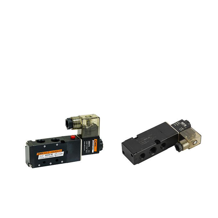 Double Pass Directional Solenoid Pneumatic Pinch Valve