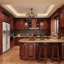 CBMMART USA Standards Solid Wood Shaker Style Kitchen Cabinets/Modular Kitchen Cabinet Designs