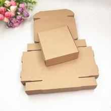 Custom Logo Shipping Packing Corrugated Black Craft Square Paper Box