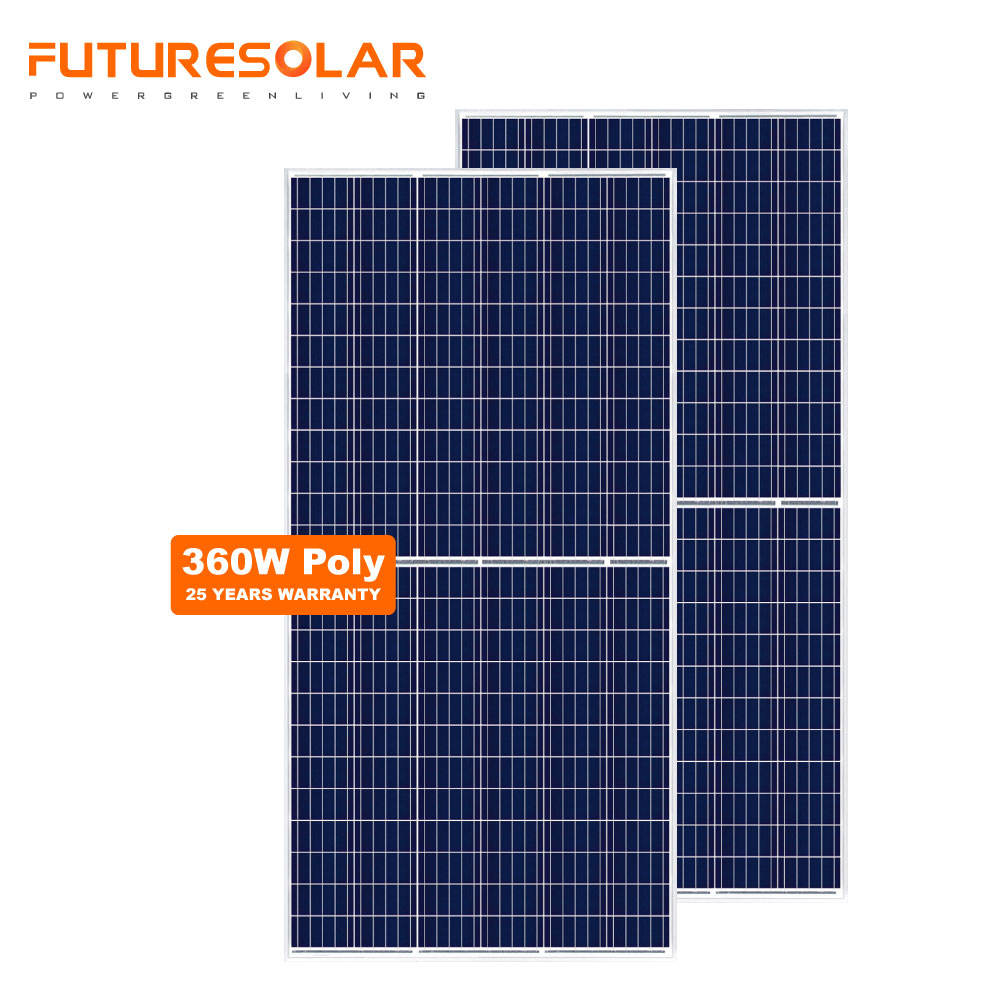 Great quality 340w 350w 360w poly solar panel from factory half cut pv solar