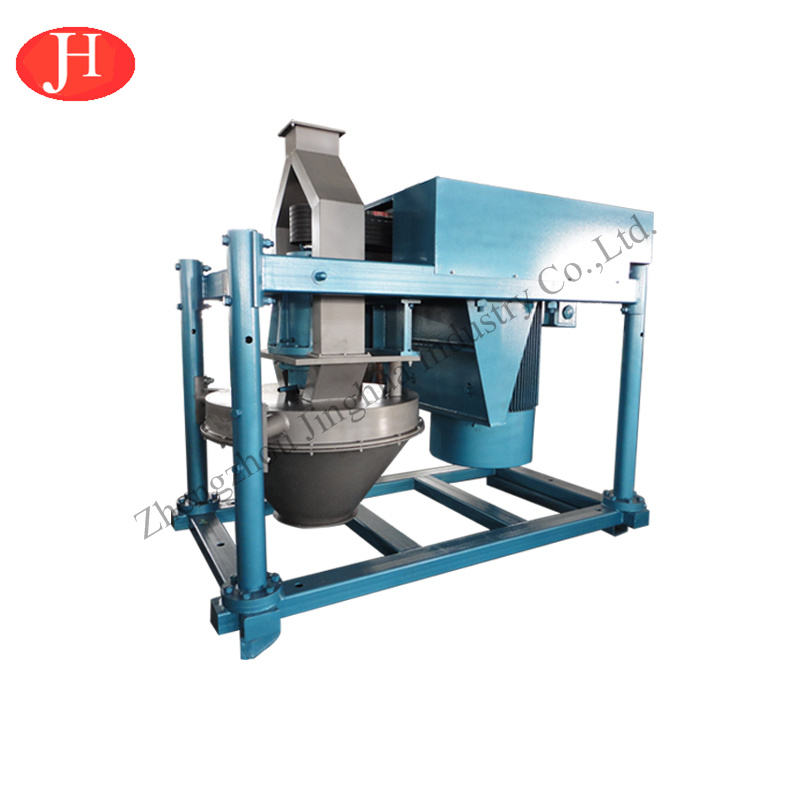 Corn starch grinding making machine vertical pin mill maize grinder milling processing line
