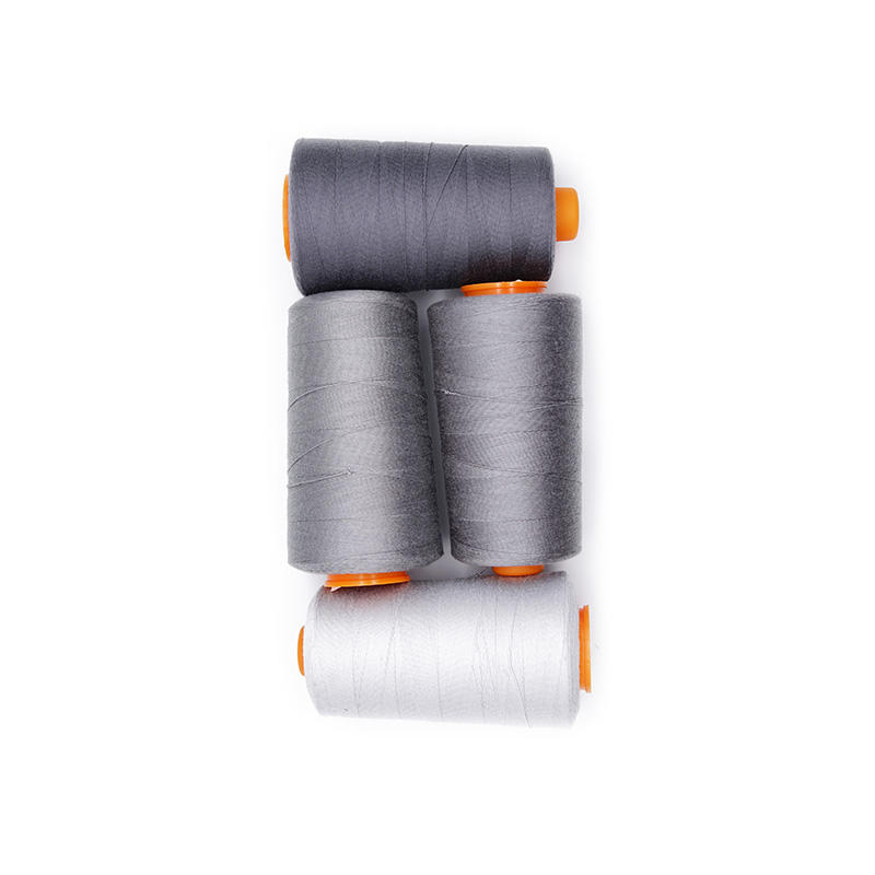 Cheap Price Promotional Price 100% Spun Polyester 20/2 Durable Grey Sewing Thread For Garment