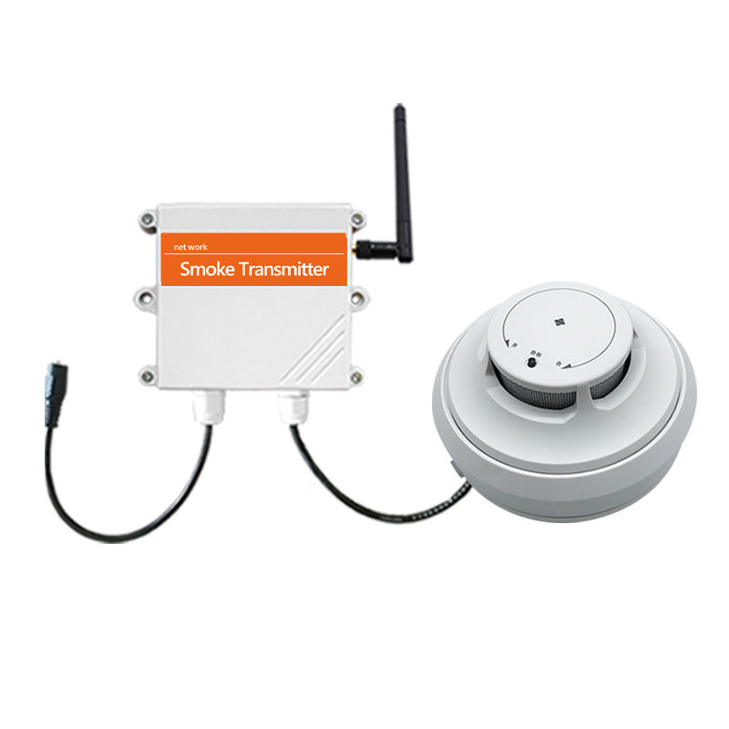 NB/LoRa/4g wireless smoke detector fire alarm sensor for Household with cloud server