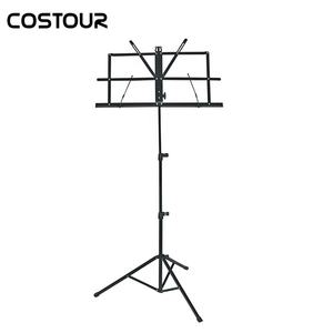 Portable Adjustable Music Stand With Bag For Instrumental Performance
