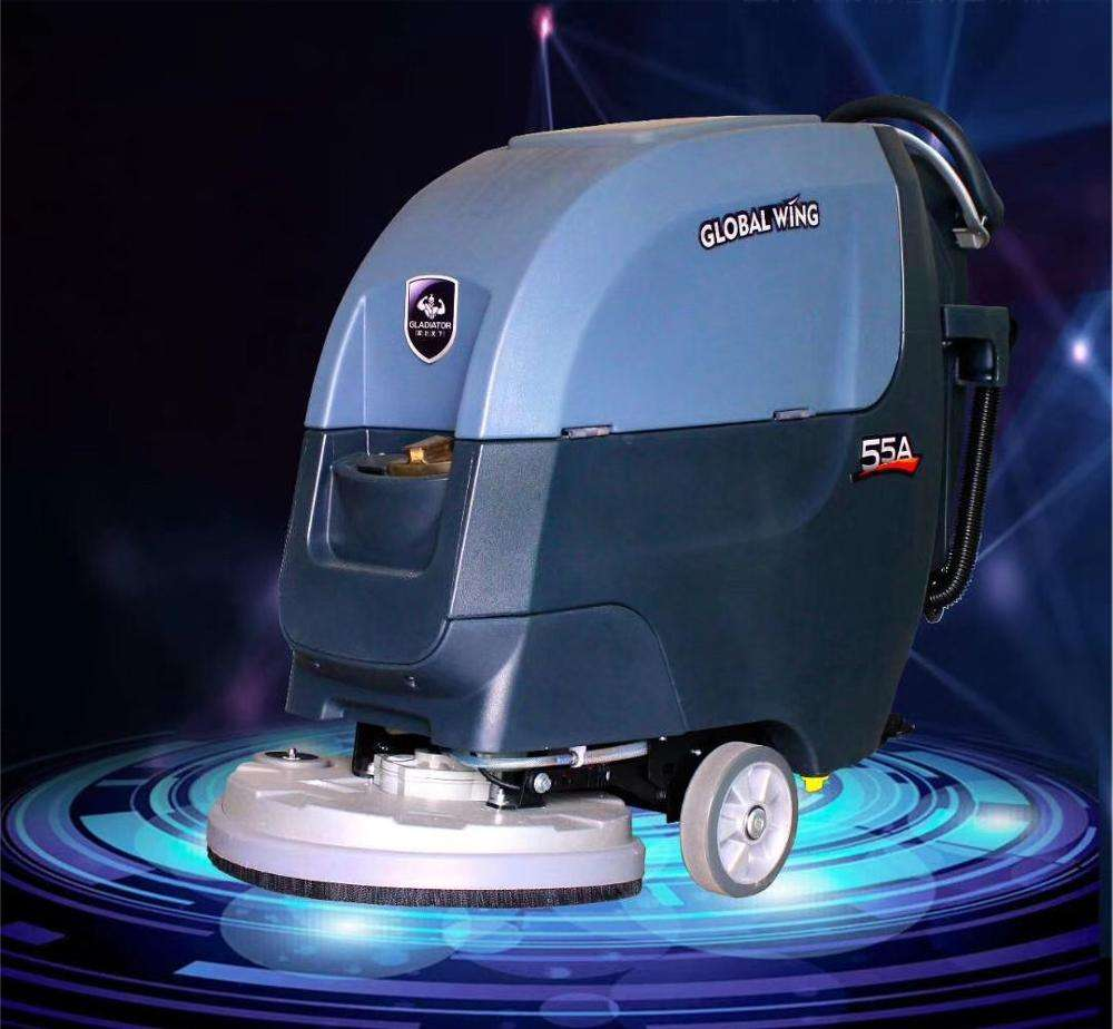 Good Feedback Dryer Washing Marble Walk Behind Floor Scrubber Floor Cleaning Machine Wholesale
