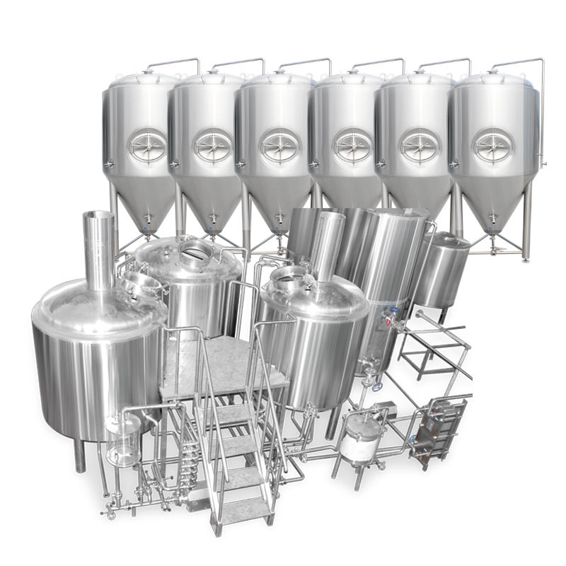 Stainless steel craft beer brewery machine 500l/1000L/1500L beer brewing equipment