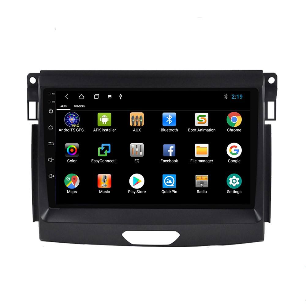 6 + 128 Auto Multimedia Radio Speler Android 10 Tesla Screen Car Dvd-speler Gps Navigatie Voor Ford Everest Ranger 2016-2019