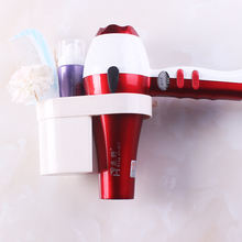 High quality powerful vacuum suction cup nailless detachable hairdryer holder