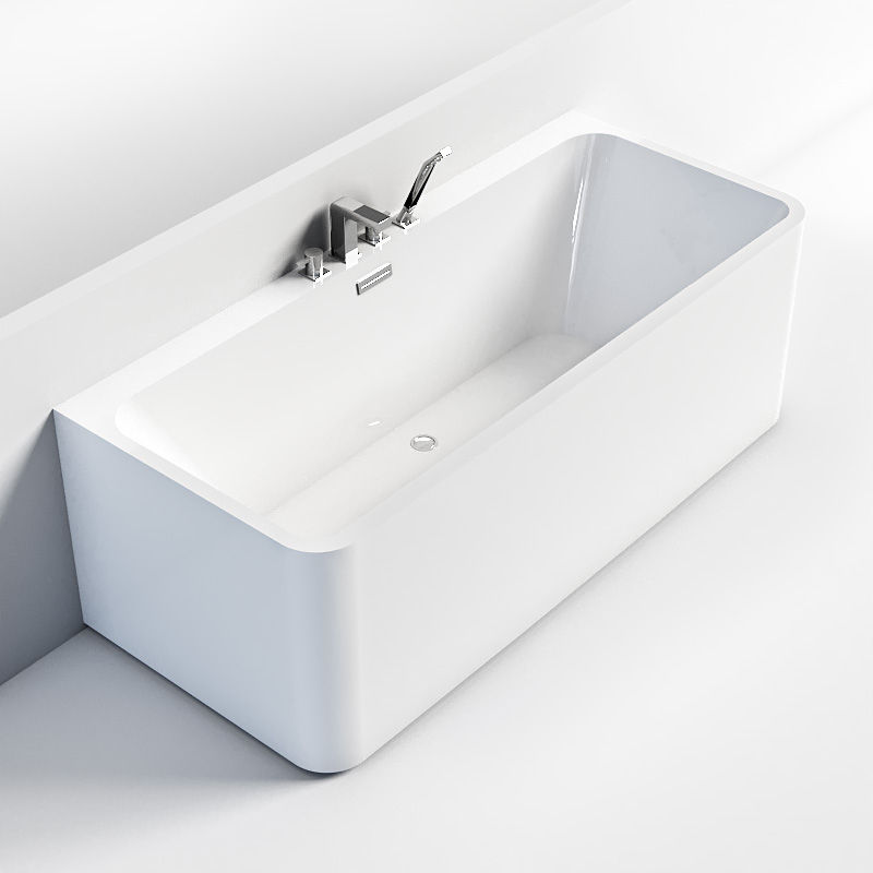 Waltmal Cheap white acrylic jacuzzi bathtubs hot Freestanding Massage tubs with shower WTM-02558