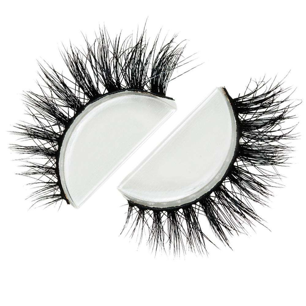 ขายส่งผ้าไหม faux Mink FUR Strip Lashes Mink eyelash