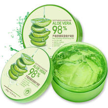 Best Sale Nature Organic Soothing Moisture 98% pure aloe vera soothing face gel for Anti-Acne