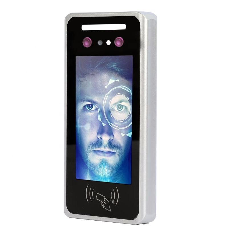 Recognition INJES Dynamic Facial Recognition Device Body Live Face Time Attendance Access Control Machine