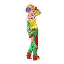 Halloween Adult Party cosplay Comfortable circus fancy Clown Costume
