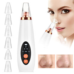 Electronic Professional Skin Face Deep Nose Pore Pore Cleaner Vaccum microdermabrasion Blackhead Suction Remover