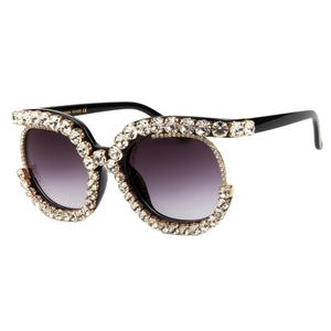 Sunglasses Womans Designer Sunglasses 2020 Hot Sale Crystal Diamond Women Sunglasses Rhinestone Sunglasses