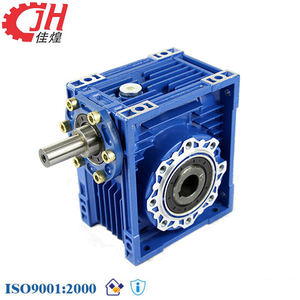 Industrial Power Transmission NRV Series Helical Small Worm Gear 40 To 1 Speed Reduction Gearbox 96001 For Conveyor