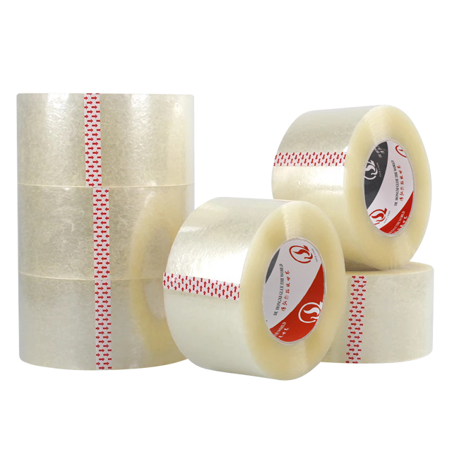 "2"" x 110 yards transparent adhesive packaging tape"