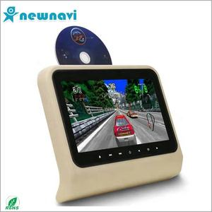 With SONY lens 7 inch auto DVD headrest with INNOLUX new 16:9 digital LCD screen car headrest dvd