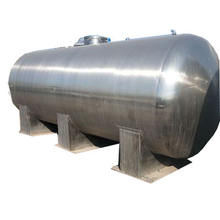 stainless steel 2000l  water storage tank