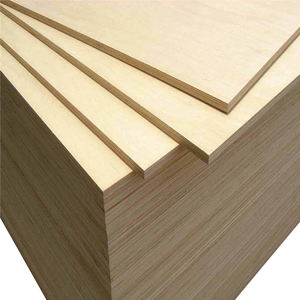 Factory wholesale birch plywood 1mm hardwood 3mm x 10mm 15mm