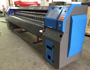 240sqm/H Konica 512i Printkop Printer 3.2 M Digitale Vinyl Flex Banner Solvent Printer/Plotter/Drukmachine