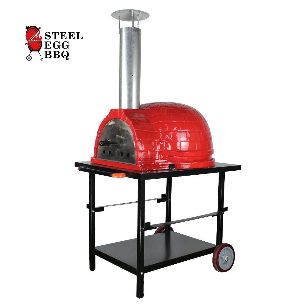 SEB dome pizza oven italy 26 inch wood charcoal baking oven