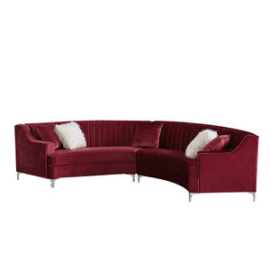 Well-designed modern living room sofa modern lounge sofa 2pcs sectional sofa