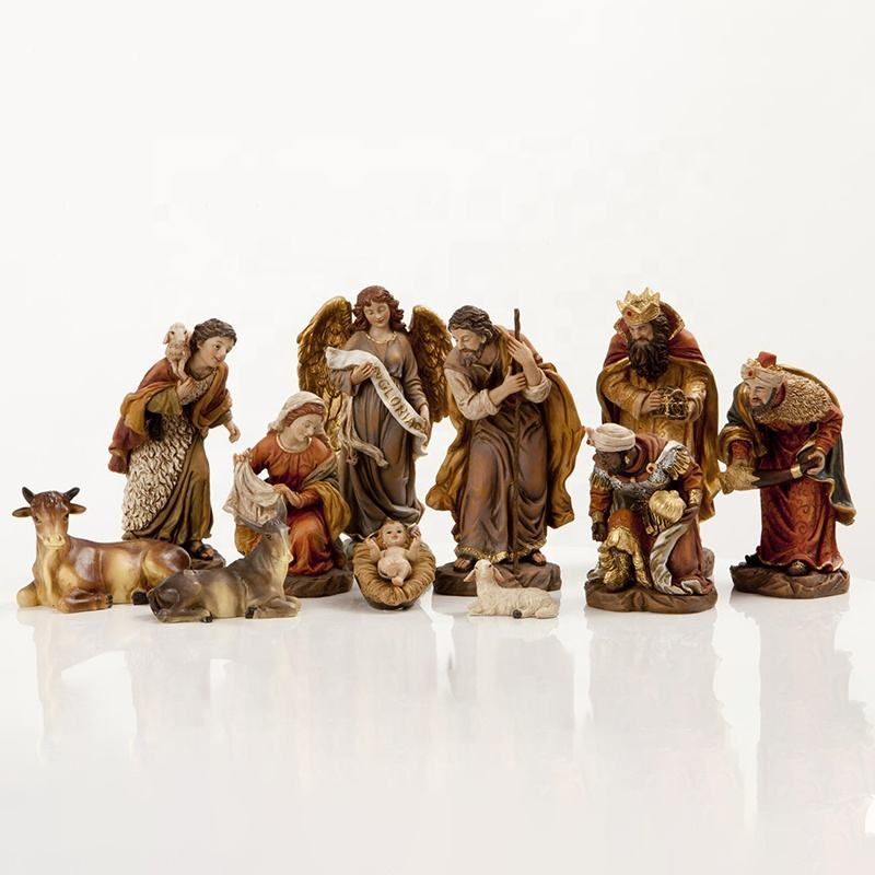 outdoor nativity scene sets bronze sculpture christmas for sale