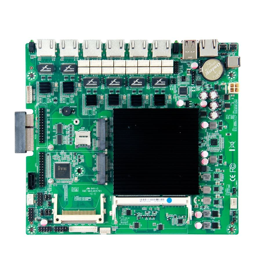 Intel Baytrail <span class=keywords><strong>ATOM</strong></span> J1900 6 LAN Bypass i211 HD Graphics Firewall Netzwerk Motherboard Mit GPIO