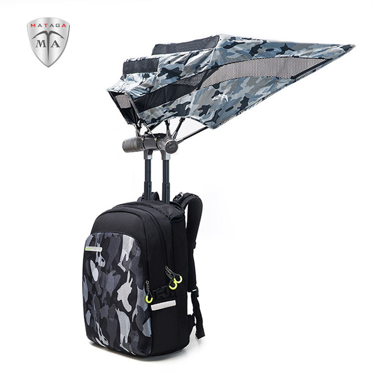 MTA Polyester New Outdoor Casual Backpacks With Umbrella