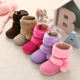 2020 new hot sale pink snow boots for girls and anti slip outsole kids baby injection snow boots