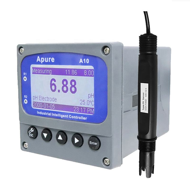 Online Regulator Ph ORP Pengukuran PH Transmitter