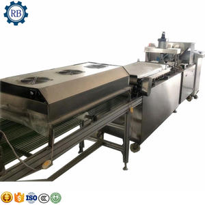 stainless steel chapati roti making machine/spring roll skin presser machine/roasted duck wrapper production line
