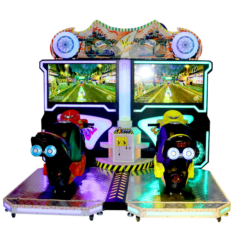 46 Inch Coin Operated Simulator Racing Car Motorcycle Game Machine Arcade Game
