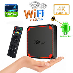 2021 New S905w4 X96 MINI Plus 2gb 16gb Android IP Tv Box 9.0 Smart TVBox IP DUAL Wifi 4K 1GB 8GB X96 media Player Set Top box