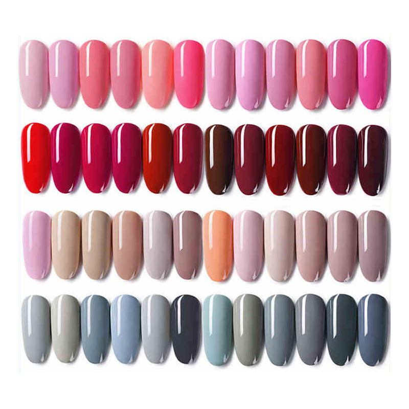 Cheap Price Nail Supplies Colorful Gel Colors UV/LED Gel Nail Polish