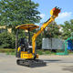 Energy-Saving Mini Garden Excavator Mini Bucket Wheel Excavator Trench Digger