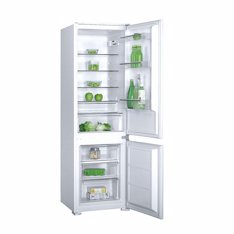 Hot-sale product for home use 259L double door refrigerators built in fridge