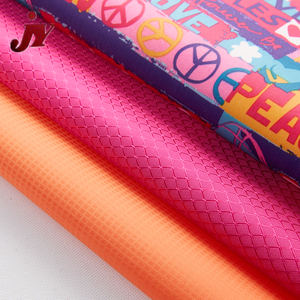 Hangzhou JY Best selling DTY polyester 600*300D pvc baby print fabric
