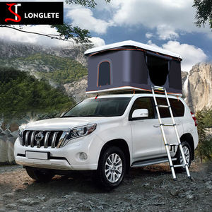 Car Camping Automatic truck Rooftop Tent Hard Top Roof Tent Outdoor Vehicle roof top tents
