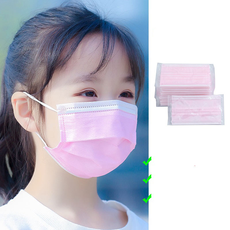3ply Disposable Face Mask for 4-14 Years Old Child Kid
