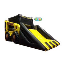 bulldozer jumper inflatable bouncer jumping bouncy castle bounce house
