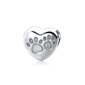 China New Fashion Sterling Silver Lovers Dog Charms Wholesale