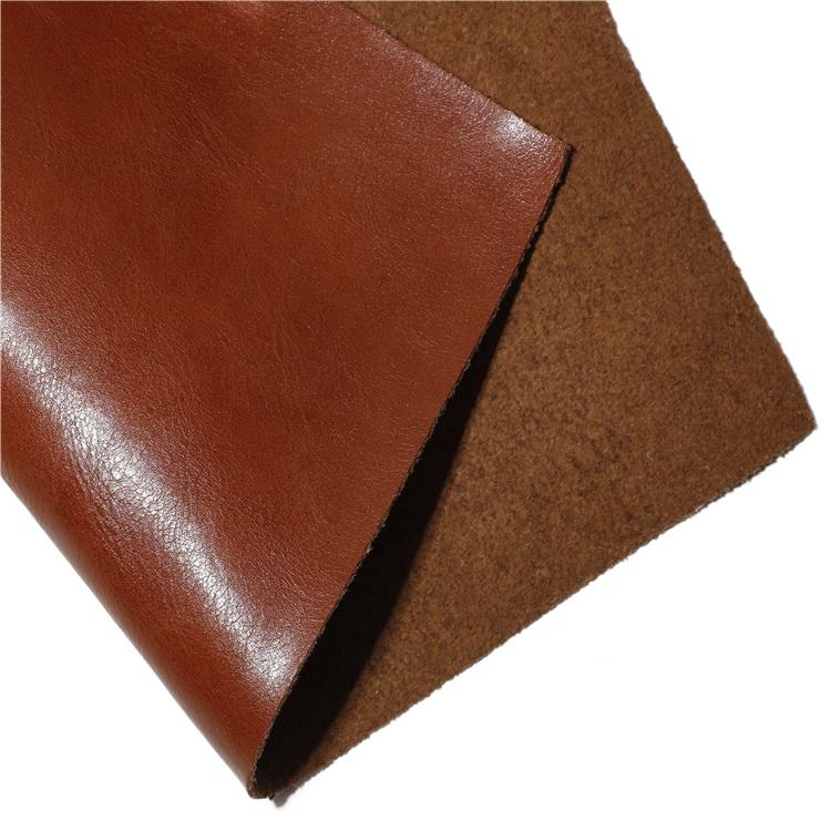 Recycled Cowhide Fiber Latest High Quality PU Leather Excellent Quality Abrasion Resistant Fabric