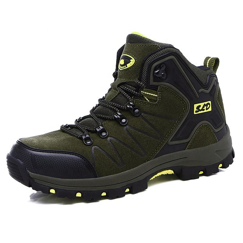 Latest unisex mountain outdoor sport hiking shoes trekking shoes