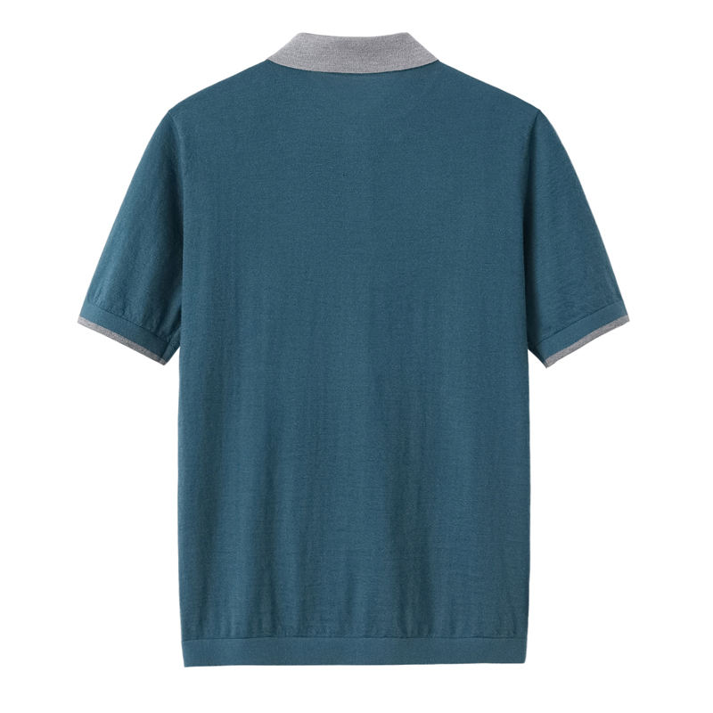 New Arrival Short Sleeve Shirt 10 Cashmere 90 Cotton Fabric Custom t-shirt feeling summer Men Shirt cotton
